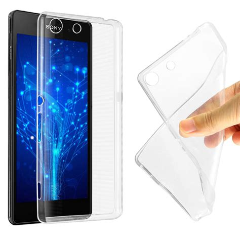 Imak Ultra Thin Tpu For Sony 4 aliexpress buy imak ultra thin soft tpu gel clear for sony xperia m5 e5603