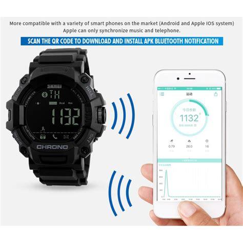 Jam Smartwatch 3 Skmei Jam Tangan Olahraga Smartwatch Bluetooth 1249