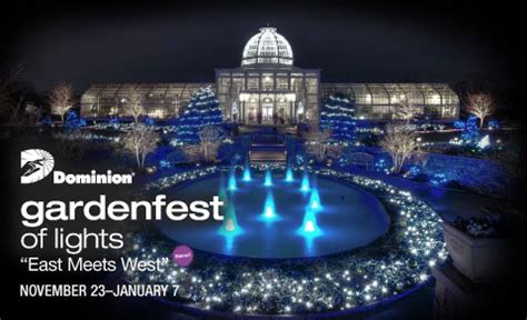 dominion gardenfest of lights a richmond must see