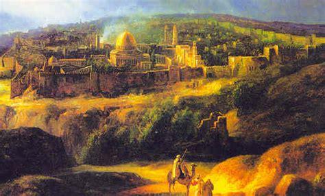 imagenes reales de jerusalen la genuina misi 243 n de israel la rama dorada