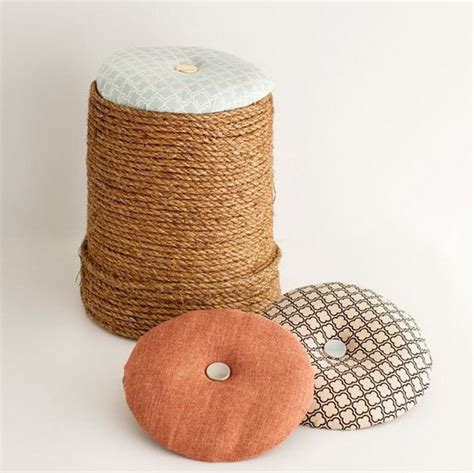 pouf ottoman diy 30 diy ottoman floor pouf projects awesome tutorials