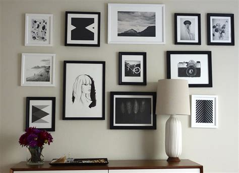 how to do a gallery wall easy gallery wall popsugar home