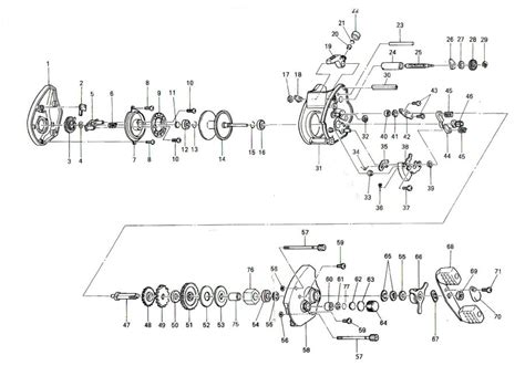 quantum reel parts diagram quantum reel schematics sl100hpts bait cast reel