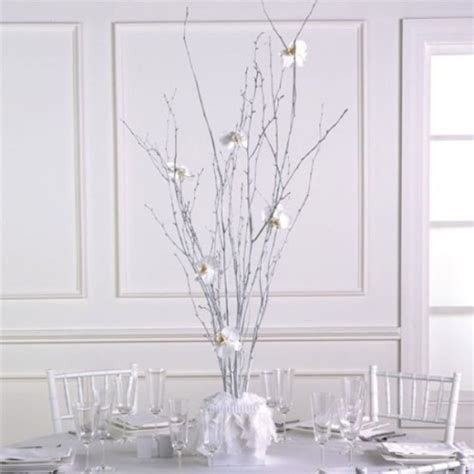 bulk branches for centerpieces 75 charming winter centerpieces digsdigs