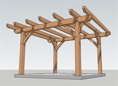 woodwork pergola engineering plans pdf plans