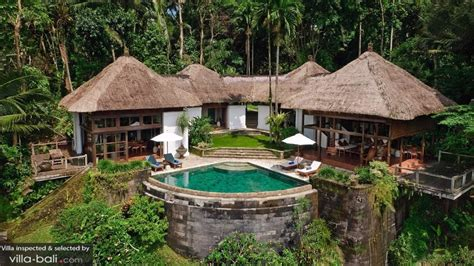 3 Bedroom Villas Ubud Bali Villa Melati In Ubud Surroundings Bali 3 Bedrooms