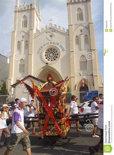 malacca new year parade in malacca editorial image image of