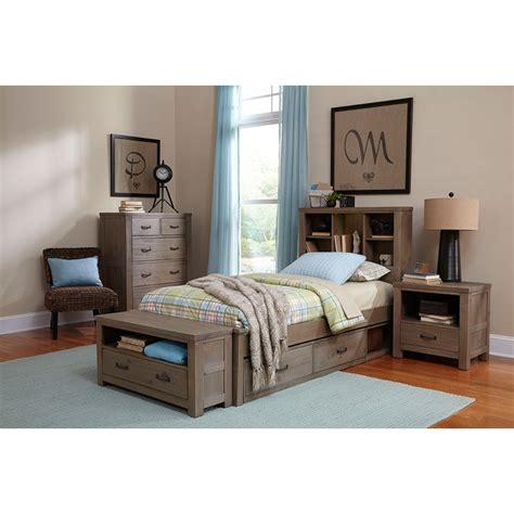 highlands bookcase bed ne