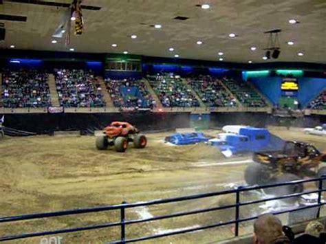 monster truck show salisbury md crustation vs screamin demon monster truck winter