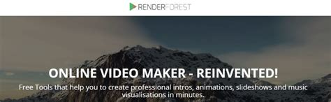 Renderforest Helps You Create Broadcast Quality Videos Renderforest Free Templates