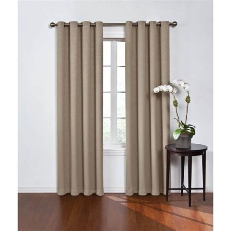 polyester blackout curtains eclipse blackout round and round mushroom polyester