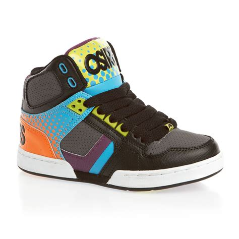 osiris shoes osiris nyc 83 boys shoes black dot fade free uk delivery