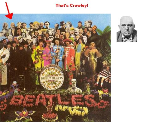 beatles illuminati ॐ beatles x illuminati founder crowley