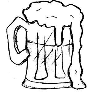 cartoon beer black and white beer clip art 2 clipartix