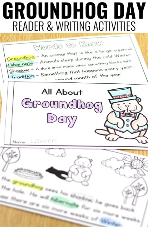 groundhog day journal prompts 17 best images about a teachable on tpt on