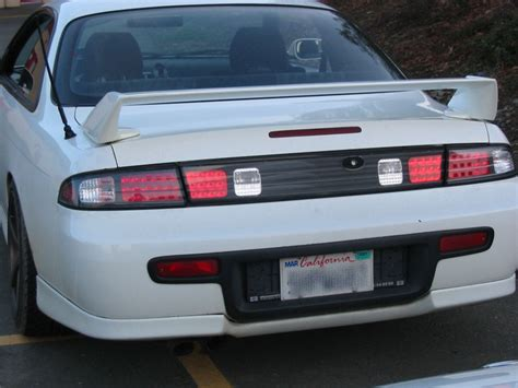 s13 clear tail lights nssan 240sx s13 s14 jdm led tail lights tail ls by