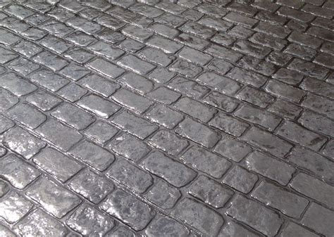 Imprinted Concrete Mats by Cheshire Cobble Border