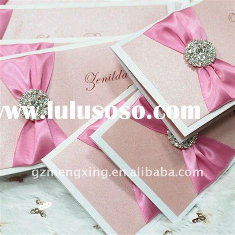 wedding invitations with ribbon and rhinestones rhinestone ribbon buckles manufacturers with pcs xxmm new