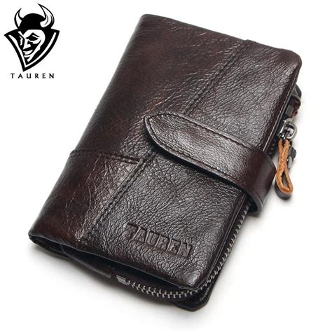 Cowhide Wallet - aliexpress buy tauren wax cowhide genuine