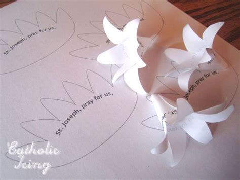 Flower Paper Craft Template - 17 best ideas about flower template on paper