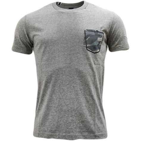 plain t shirt with pattern pocket replay plain camouflage pocket t shirt m3327 t shirts