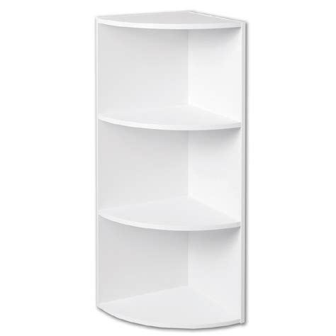 shop closetmaid white corner shelf unit at lowes