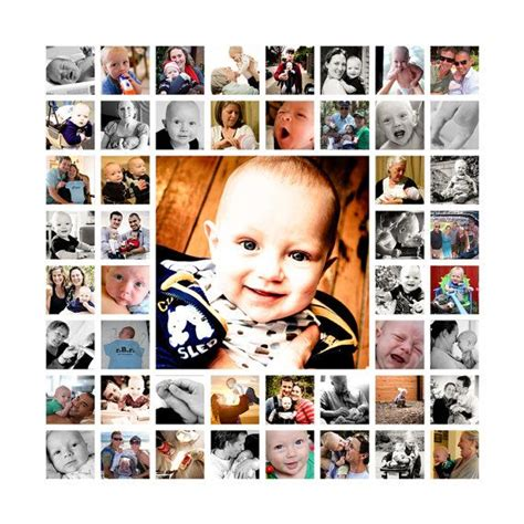20x20 photo collage design print 17 best ideas about photo collage canvas on