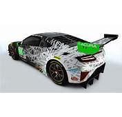 Acuras New NSX GT3 Livery Is The Bomb Diggity  Roadshow