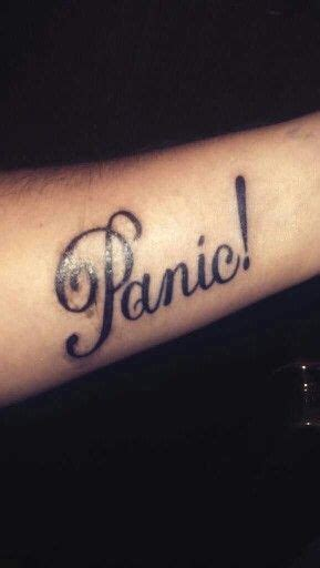 panic at the disco tattoos panic at the disco my so happy