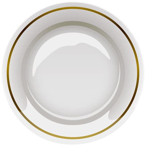 plate clip 46 plates clipart