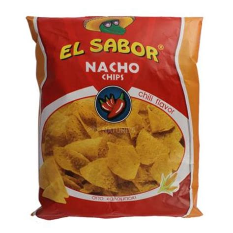 El Sabor Nacho Chip Bbq Salted Chili Flavour Nacho Chips Chili El Sabor Naturesbasket Co In