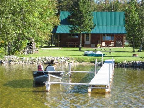 Manistique Lake Cabins by 2 Bdrm Lake Front Log Home On S Manistique Vrbo