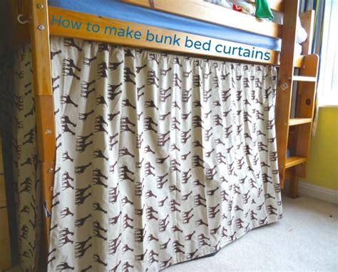 bed curtains how to make bunk bed curtains