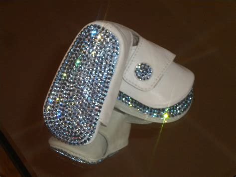 Shoe Bling by Baby Boys Bling Rhinestone Button Shoes