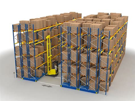 Pallet Rack Systems by Mobile Pallet Racking System Snr International Services Llc