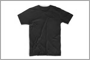 Black T Shirt Design Template by The Best T Shirt Templates Clothing Mockup Generators