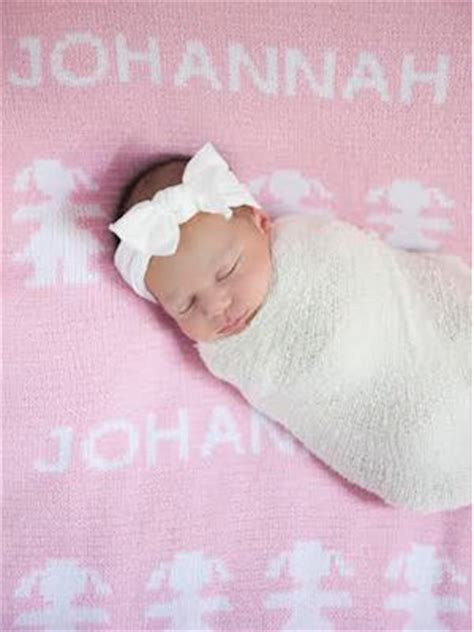 Blanket With Baby Name by Personalized Gifts Baby Blankets More Names In Knit