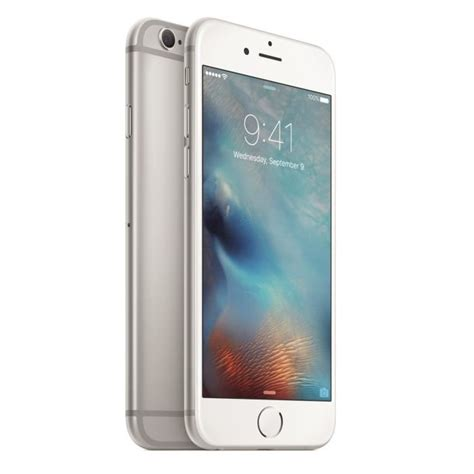 apple iphone 6 16 go argent achat smartphone pas cher avis et meilleur prix les soldes sur