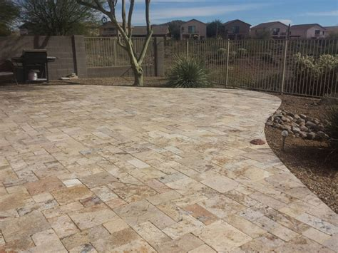 Travertine Patio Pavers Travertine Pavers Ideas And Guide From Sefa Miami