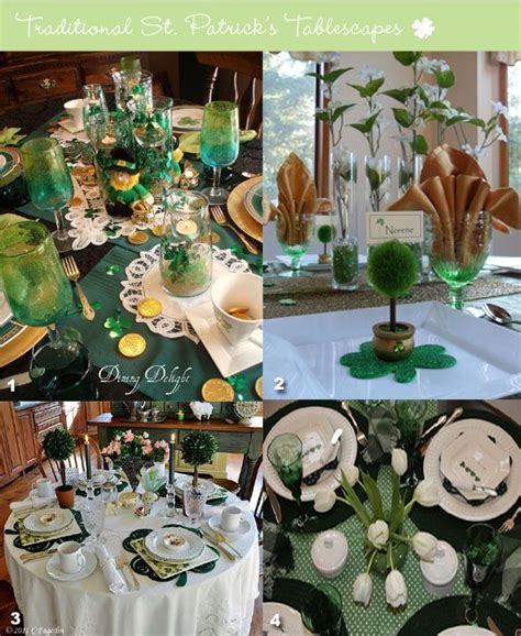 s day table decorations st s table decorations st s day