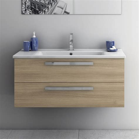 33 Inch Bathroom Vanity 33 Inch Vanity Cabinet With Fitted Sink Contemporary Bathroom Vanities And Sink Consoles