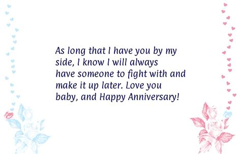 Wedding Anniversary With Newborn Quotes by One Year Anniversary Quotes Quotesgram