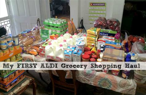 my aldi grocery shopping haul two week costco haul