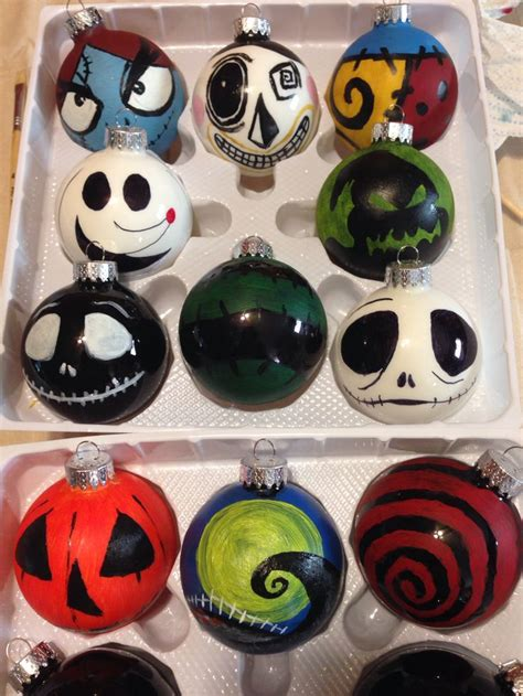 best 25 nightmare before christmas ornaments ideas on
