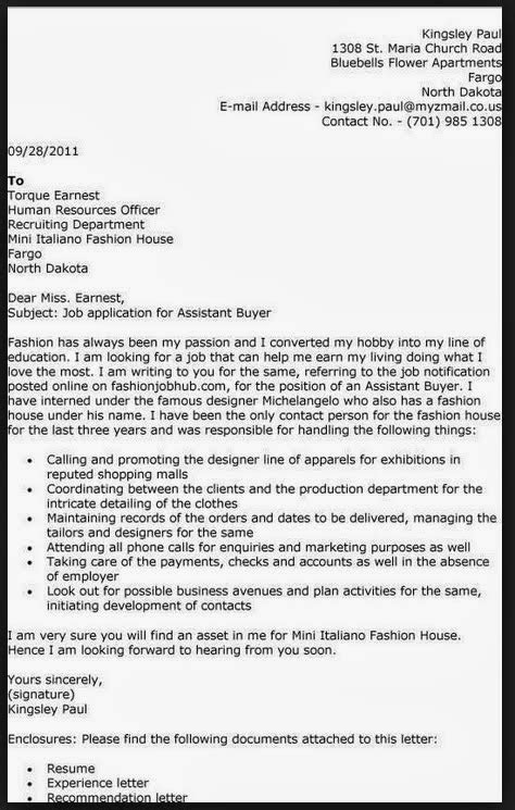 purchasing cover letter buyer cover letter