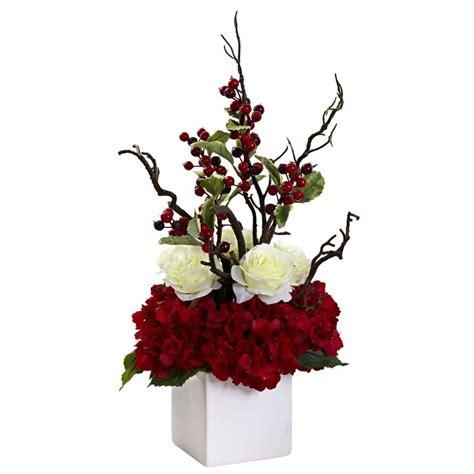 25 unique christmas floral arrangements ideas on