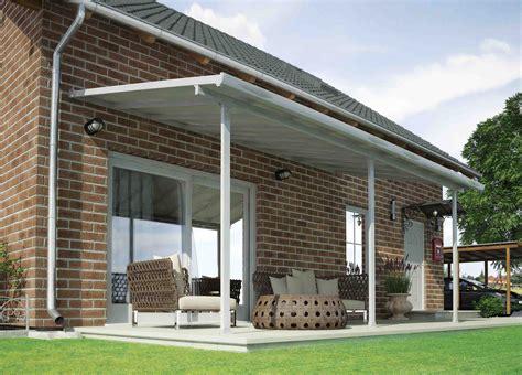 alu terrasse toit de terrasse feria en aluminium 3 x 6 m chalet