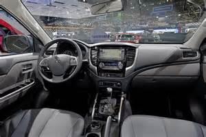 Mitsubishi L200 Interior 2017 Mitsubishi L200 2016 2017 Truck