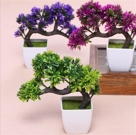 potted artificial tree tree potted landscape artificial bonsai pot plants