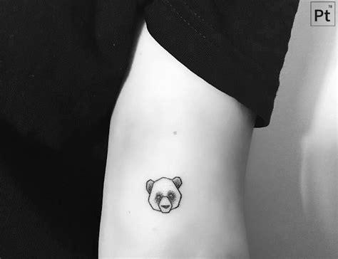 pointillism tattoo panda pointillism cool tatoos